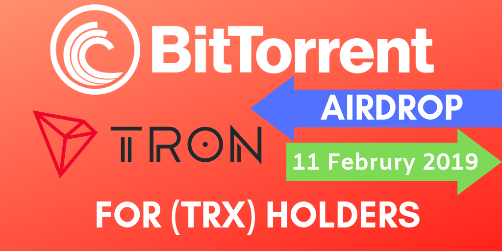 BitTorrent's Airdrops For TRON (TRX) And BTT Holders Lasts Until 2025